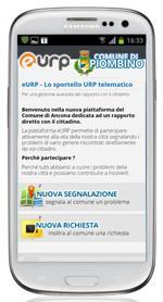 eURP in visualizzazione mobile