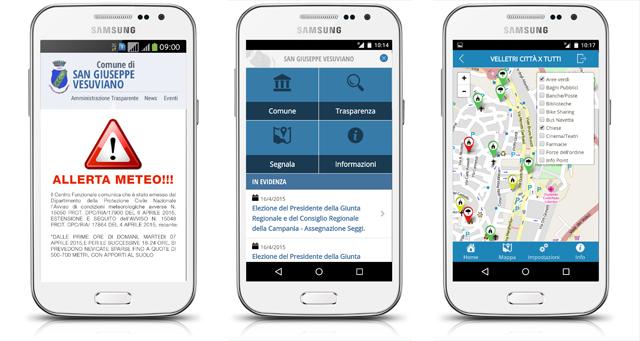 App Portale istituzionale e Amministrazione trasparente