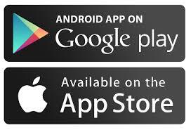 Loghi Google Play e App store