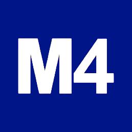 logo Metro 4 Milano