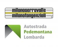 logo Milano Serravalle, Autostrada Pedemontana Lombarda