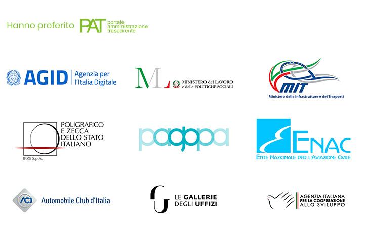 Elenco referenze PAT - Portale amministrazione trasparente