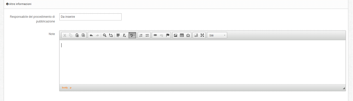 Editor contenuto libero - Conversione automatica in contenuto accessibile